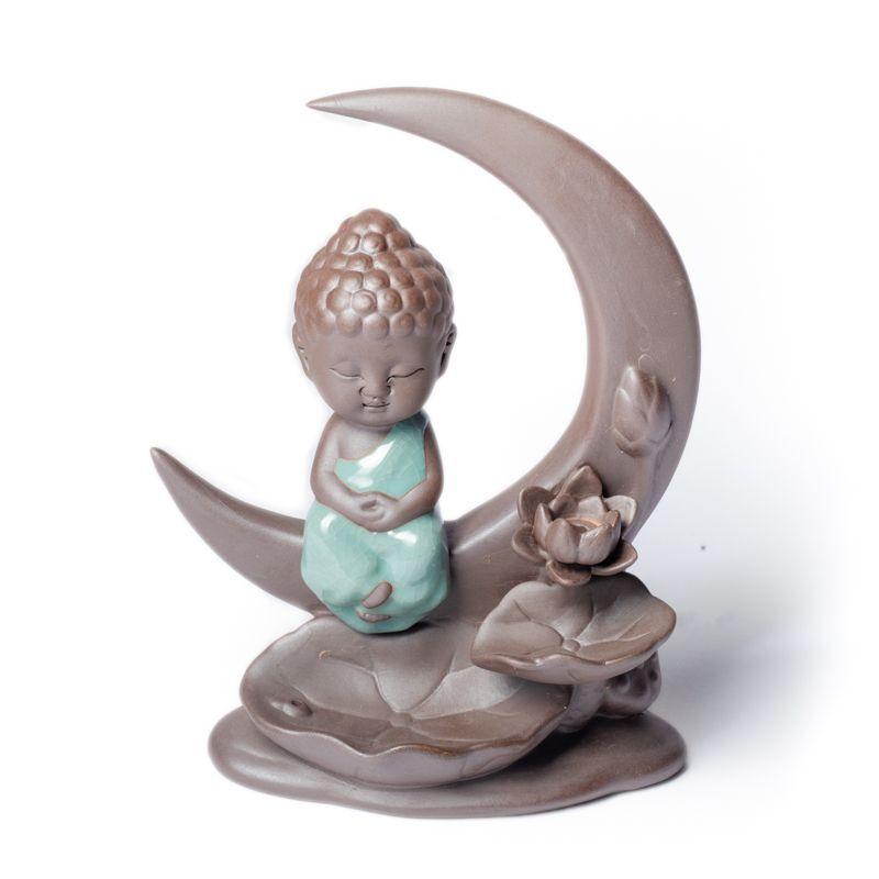 Fontaine à encens Bouddha Lune