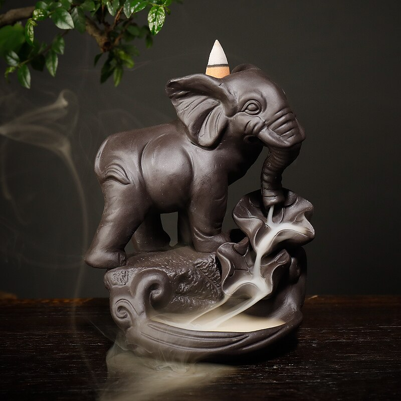 Fontaine à Encens Eléphant