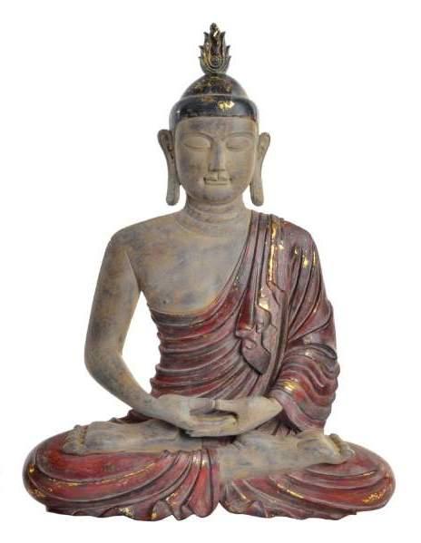 créa idéa home bouddha mural