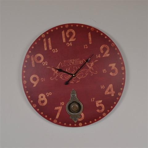 créa idéa home horloge pendule authentique