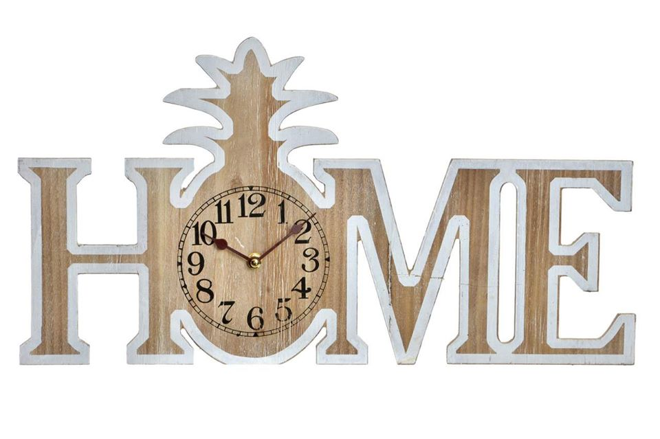 créa idéa home horloge ananas home