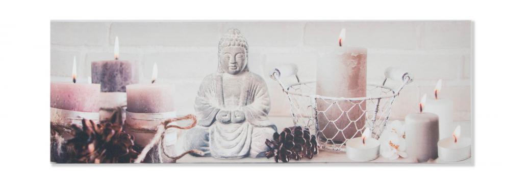 crea idea home toile bouddha zen