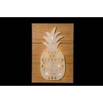 crea idea home décoration mural led ananas