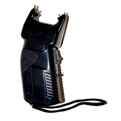 Poing électrique 2 en 1 avec Jet au poivre 200 000 volts