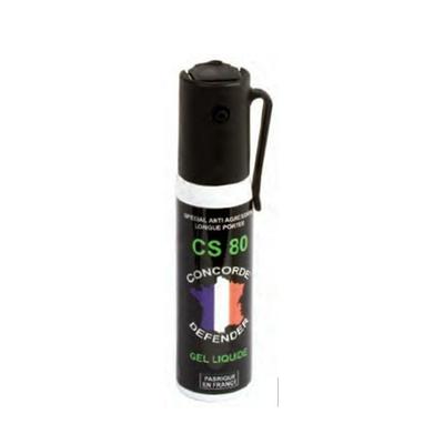 Bombe lacrymogène gel cs 25 ml