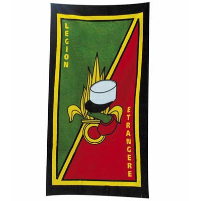 Serviette de plage Légion Étrangère 80 x 158