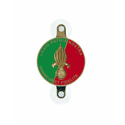 Plaque avec ventouses Légion Étrangère
