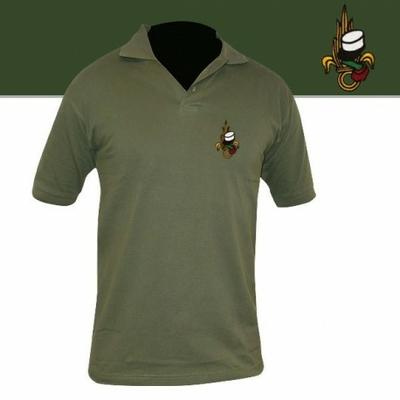Polo Vert Brodé Légion