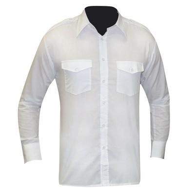 Chemise pour agent de sécurité manches longues