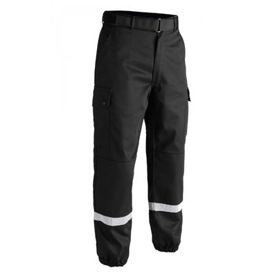 Pantalon Treillis noir F2 bandes rétro-réfléchissantes