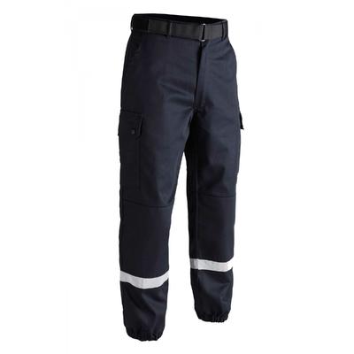 Pantalon Treillis bleu F2 bandes rétro-réfléchissantes