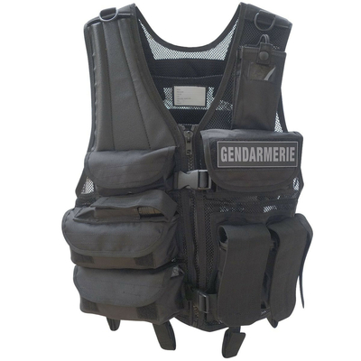 Gilet Tactique Intervention réglable