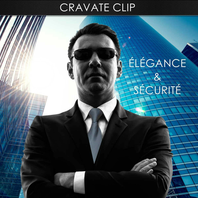 Cravate à clip