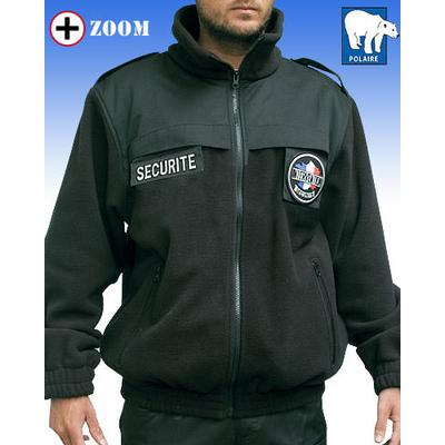 Blouson agent de sécurité polaire