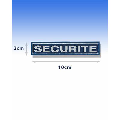 Barrette rétroréfléchissante sécurité