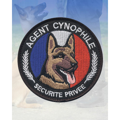 Ecusson rond Agent Cynophile