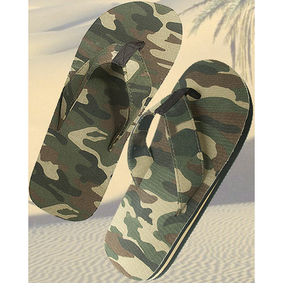 Tongs militaire camouflage OPEX®