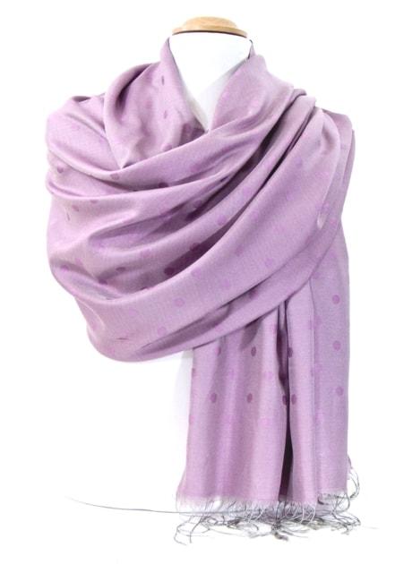 etole-soie-gris-rose-pois-etsv-fan-06-1-min
