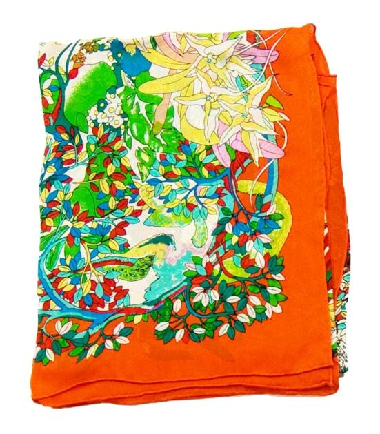 foulard-carre-de-soie-orange-fleuri-105-x-105-cm-2-min