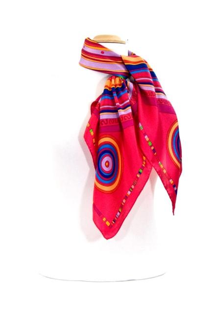 foulard-en-soie-fushia-cercle-premium-csgp-fan-01-2 copie-min