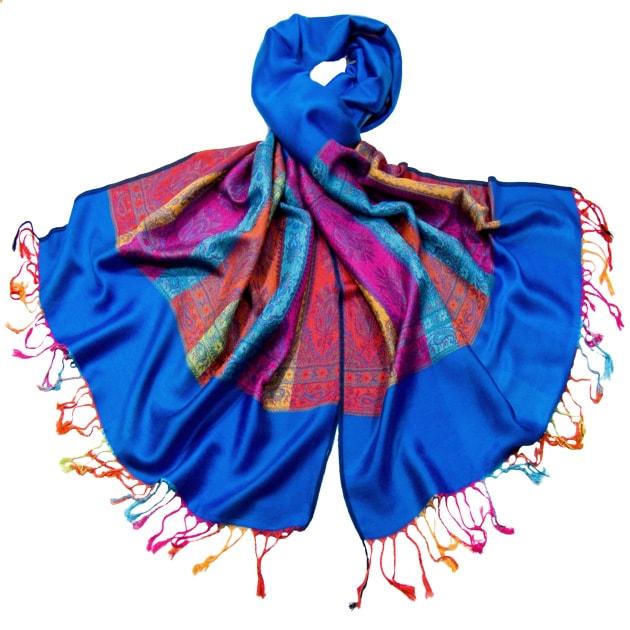 etole-en-pashmina-tissage-multocolore-bleu-vif-etf1-fan-08-3 copie-min