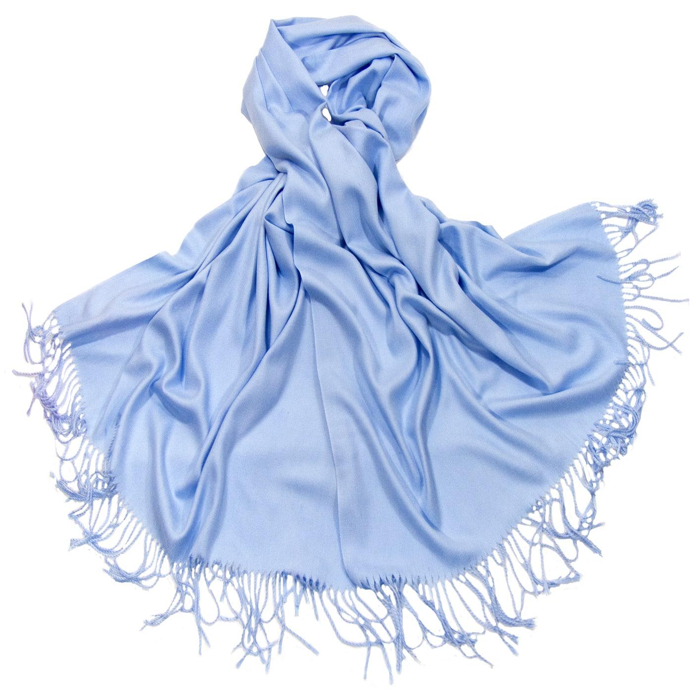 à vendre beauté sélection spéciale de Etole bleu ciel cachemire et laine - Etole cachemire/Etole ...