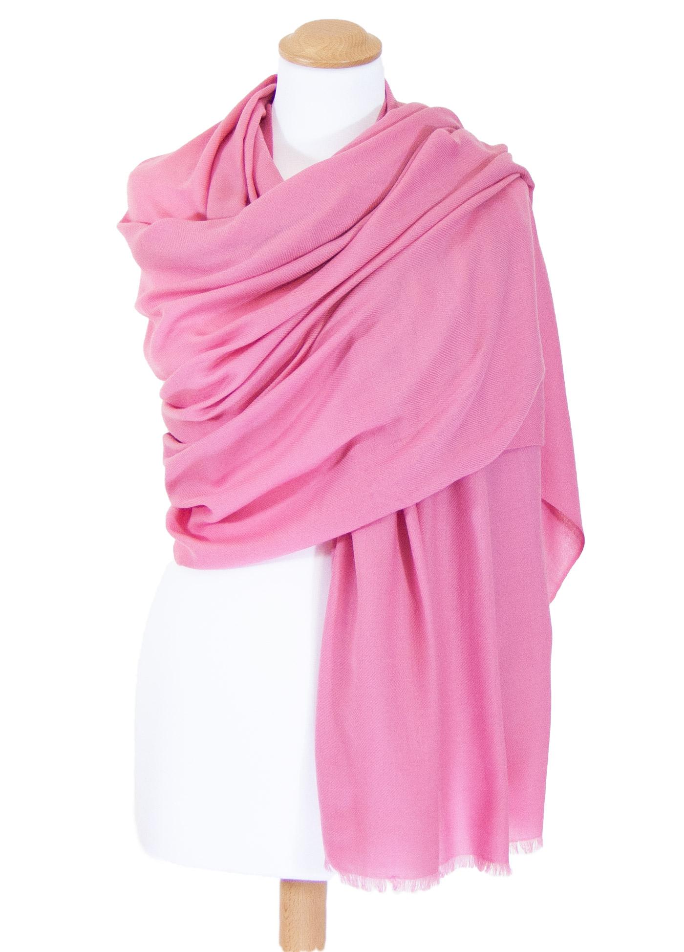 Etole rose laine fine premium