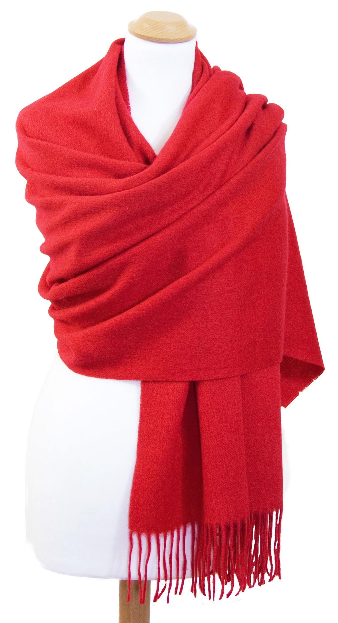 Etole rouge en laine premium