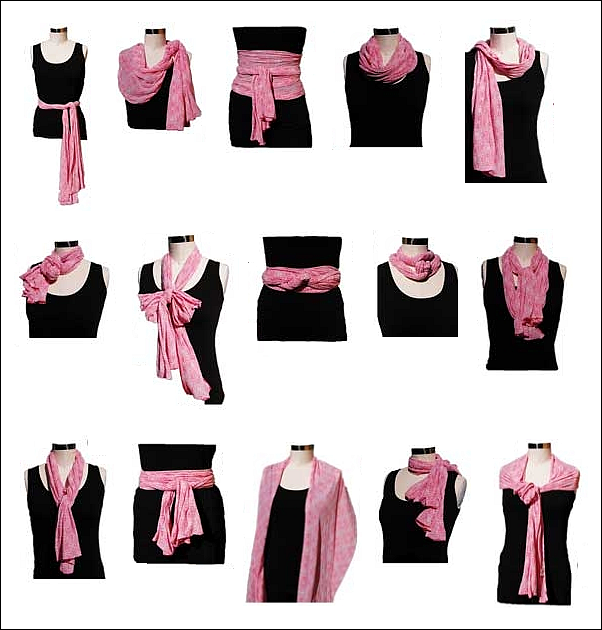Id es mode comment porter blog de - Comment porter un petit foulard carre ...