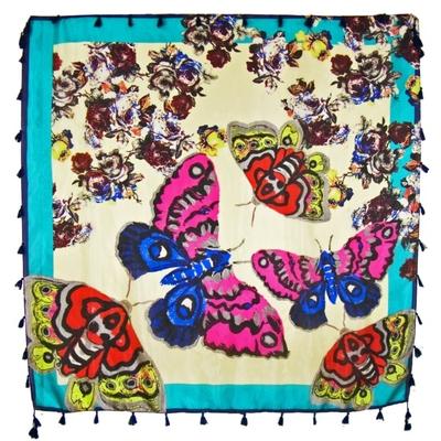 foulard-en-soie-papillons-vert-min