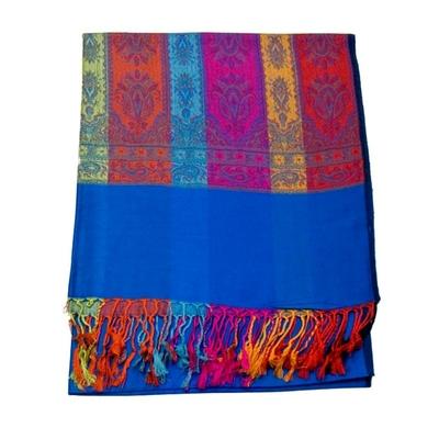 etole-en-pashmina-tissage-multocolore-bleu-vif-etf1-fan-08-1 copie-min