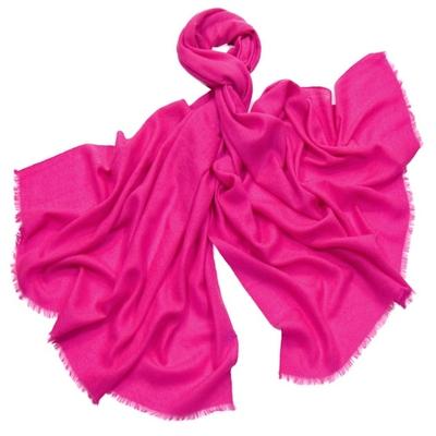 Etole laine rose fushia fine et douce premium