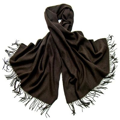 Etole brun foncé en laine