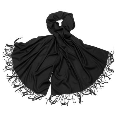 Etole noir cachemire et laine Edition limitée