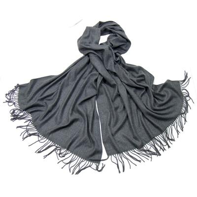 Etole gris cachemire et laine Edition limitée