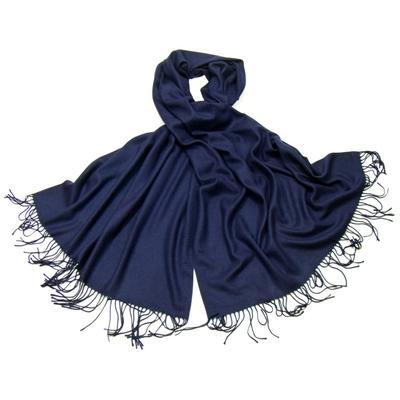 Etole bleu marine cachemire et laine Edition limitée