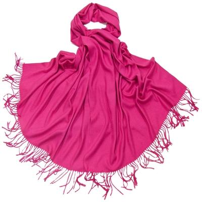 Etole fushia cachemire et laine Edition limitée