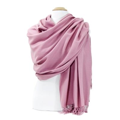 Etole rose cachemire et laine Edition limitée