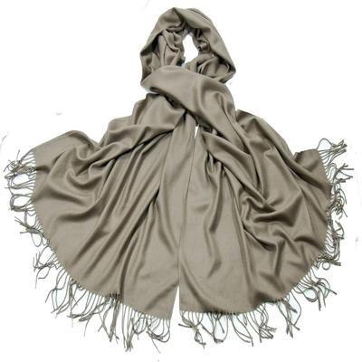 Etole taupe cachemire et laine Edition limitée