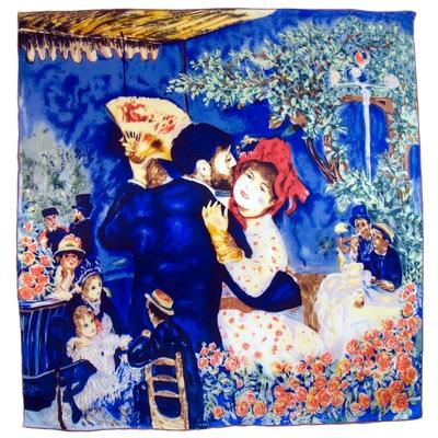 Carré de soie artysilk Auguste Renoir Danse à la campagne