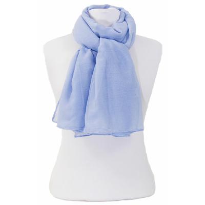 Foulard bleu fines paillettes