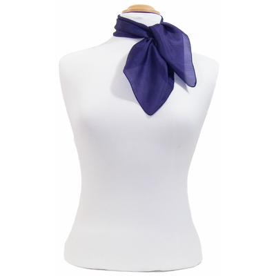 Carré en soie mini violet Palme