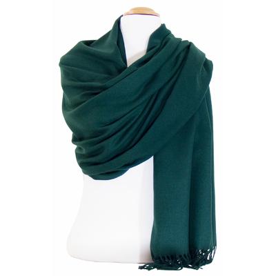 Etole cachemire laine vert Charlie