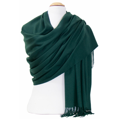 846baca54fcd Etole cachemire laine vert Charlie