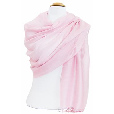 Etole foulard rose soie viscose Alex