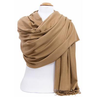 Etole cachemire laine camel Charlie