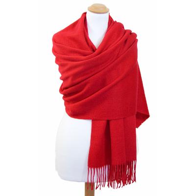 Etole rouge en laine