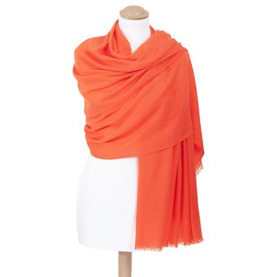 Etole orange laine fine premium