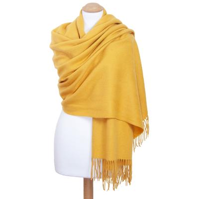 Etole jaune en laine premium