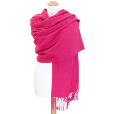 Etole rose fushia en laine premium